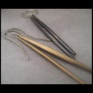 Brass quill